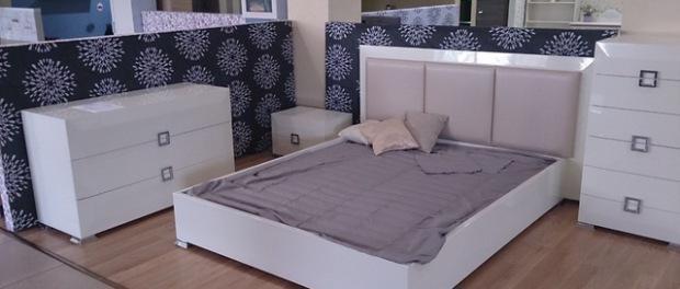 Спальний гарнітур Karat White від Аква Родос