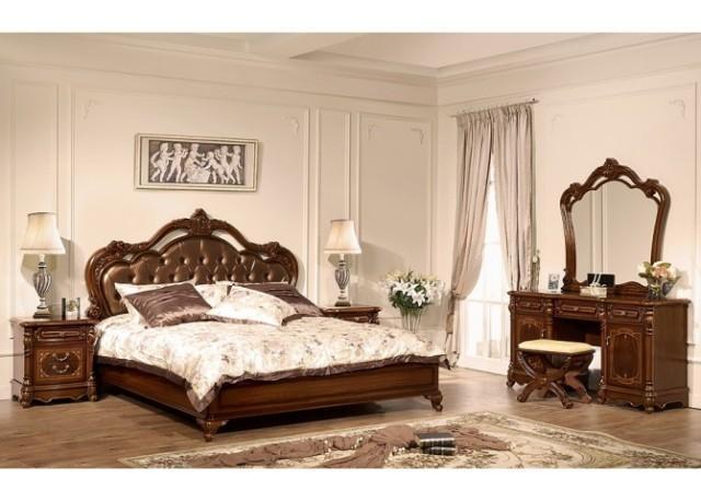 Спальня Жозефіна Joss (біла і горіх)