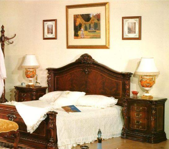 Ліжко Карпентер 208 вишневого кольору