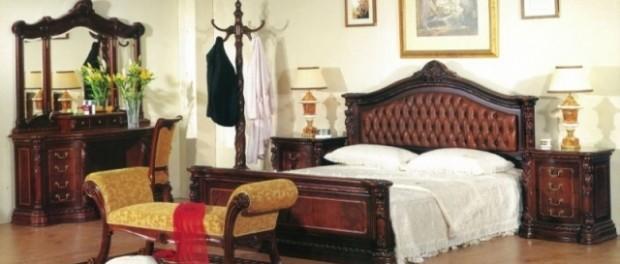Спальня 208 Карпентер - колір вишня