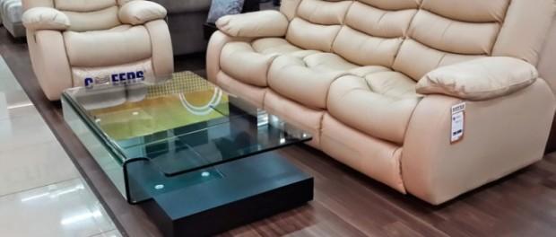 Шкіряний диван Армстронг від Агата меблі