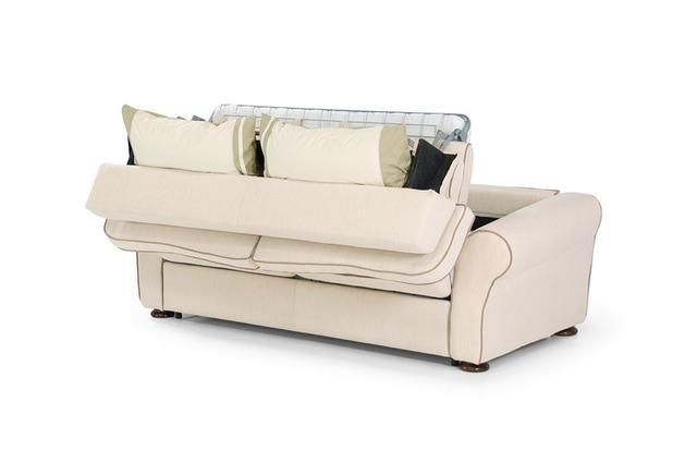 Прямий диван світлий