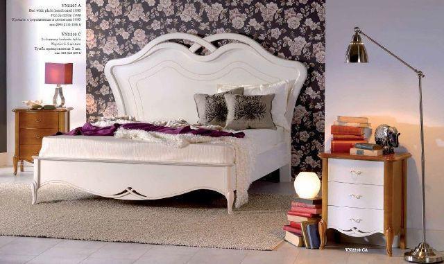 Ліжко Венета біле