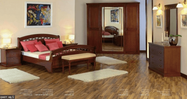 Румунська спальня Anastasia Моbех