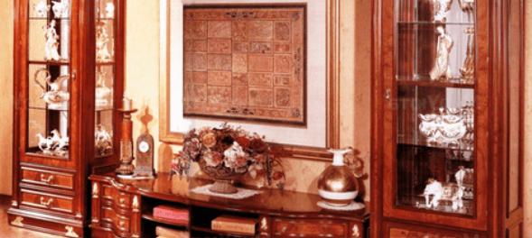 Класична стінка в залу кімнату Карпентер-216