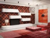 Стінка у вітальню Azimut-1, модерн від Аквародос