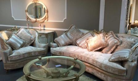 Купити класичний диван для вітальні Моцарт у Львові