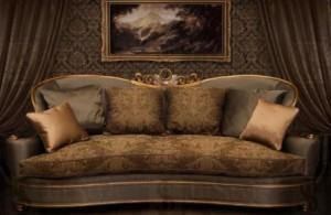 Купити класичний диван для вітальні Моцарт