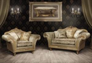 М'які меблі для вітальної кімнати Paris