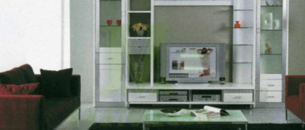 Стінка Елла 686 біла модерн від ЛВС Купити у Житомирі