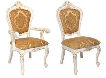 """BD Крісло і стілець Classic 619 (BD) 610 * 520 * 1100 """"оббивка R"""""""