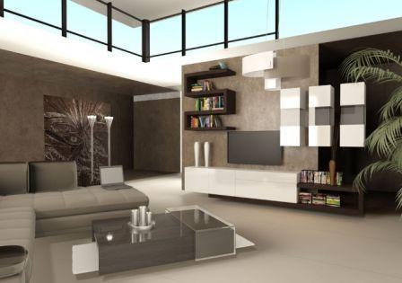 Меблі для вітальні link (фото) італійського дизайнера Даніеля Роде