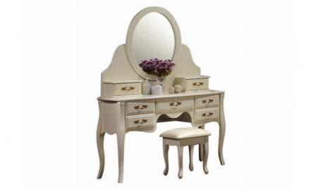 Туалетний стіл з дзеркалом фото