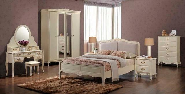 Біла спальня Фелічіта-купити спальний гарнітур у Коломиї