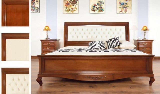 Купити спальний гарнітур Viverе з масиву дерева від Mobex