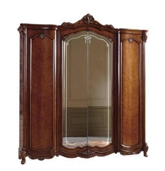 Шафа 4-х дверна з дзеркалами