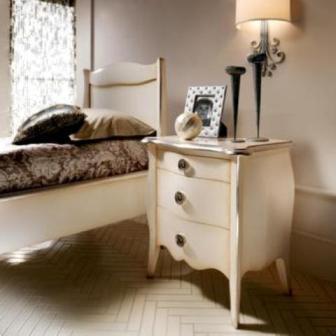 Купити дитячу спальню з масиву натурального дерева фото
