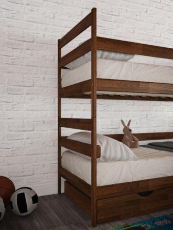 Купити Двохярусне ліжко трансформер Ясна від Аурель для дитячої кімн